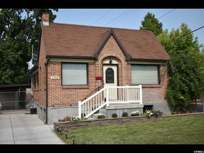 Salt Lake City Single Family Home For Sale: 2308 S 300 E