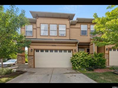 Draper Townhouse For Sale: 14780 S Invergarry Ct E