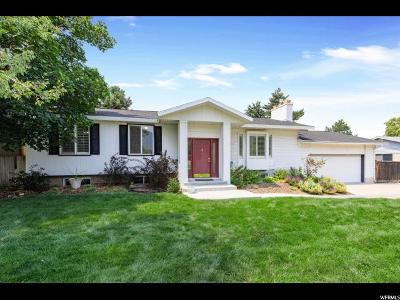 Cottonwood Heights Single Family Home For Sale: 7254 S 2700 E