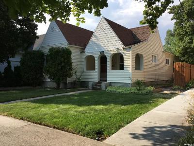 Logan Single Family Home For Sale: 129 E 300 N