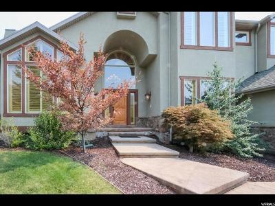 Salt Lake County Single Family Home For Sale: 5250 E Pioneer Fork Rd