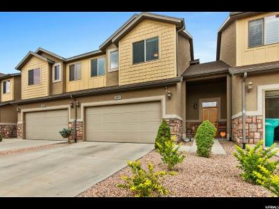 Orem Townhouse For Sale: 843 S Fox Trail Ln