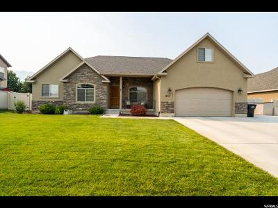 Spanish Fork Single Family Home For Sale: 1812 E 1580 S