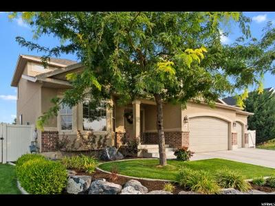 Saratoga Springs Single Family Home For Sale: 468 W Granary Pl N