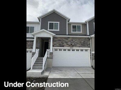 Herriman Townhouse For Sale: 4343 W Burwell Ln #078