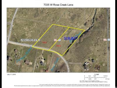 Herriman Residential Lots & Land For Sale: 7335 W Rose Creek Ln