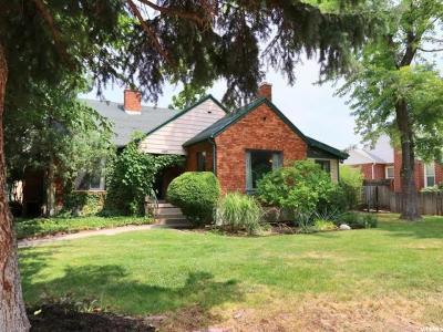 Salt Lake City Single Family Home For Sale: 1615 E 3350 S