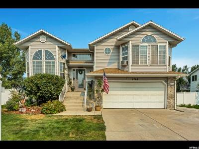West Jordan Single Family Home For Sale: 4768 W Summit Valley Dr