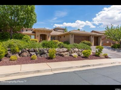St. George Single Family Home For Sale: 2164 N Gunsight Dr W