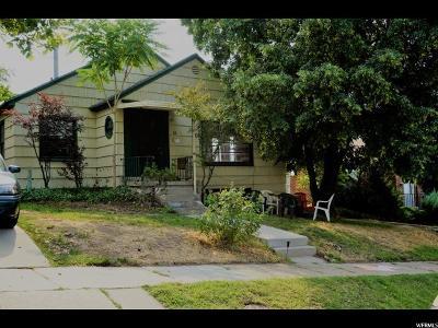 Salt Lake City Multi Family Home For Sale: 318 N H St E