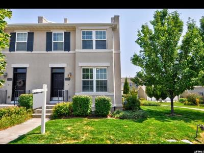 South Jordan Townhouse For Sale: 10633 S Granby Wy-164 Way