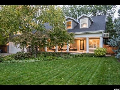 Holladay Single Family Home For Sale: 4942 S Cottonwood Ln