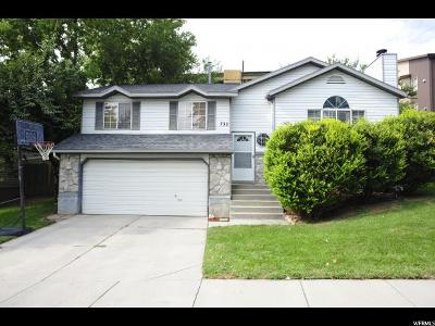 Sandy Single Family Home For Sale: 732 W Windflower Ln