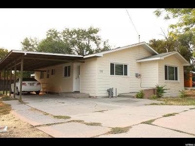 Salt Lake City Single Family Home For Sale: 335 N Redwood Rd. W