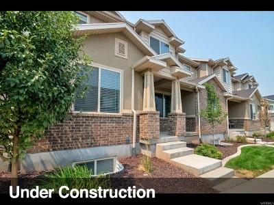 Santaquin Townhouse For Sale: 1026 N Apple Seed Ln