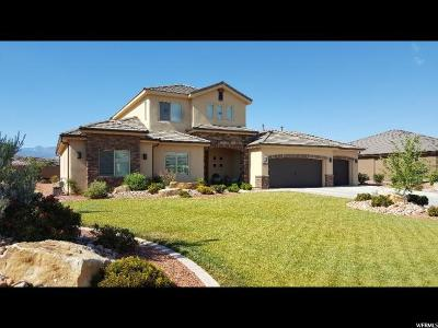 St. George Single Family Home For Sale: 2969 E 1930 South Cir S
