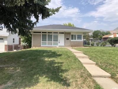 Salt Lake City Single Family Home For Sale: 2591 E Gregson Ave S