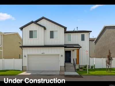 West Jordan Single Family Home For Sale: 6818 W Theophilus Ct S #30