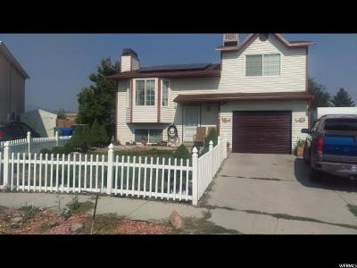West Jordan Single Family Home For Sale: 5576 W Tiger Lily Ct S