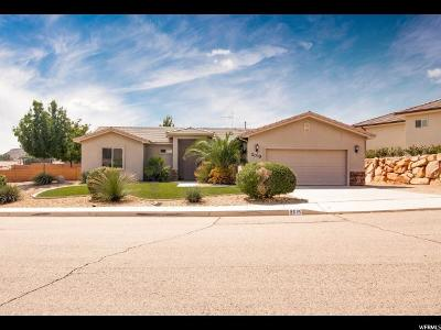 St. George Single Family Home For Sale: 2015 E 1000 N