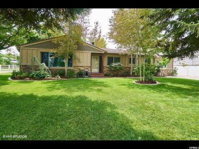 Draper Single Family Home For Sale: 814 E 12500 S