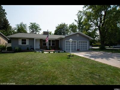River Heights Single Family Home For Sale: 610 E 500 S