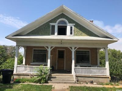 Brigham City Single Family Home For Sale: 27 N 300 W