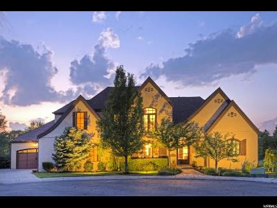 Cottonwood Heights UT Single Family Home For Sale: $1,790,000