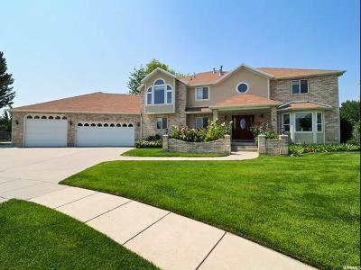 South Jordan Single Family Home For Sale: 2896 W Lincoln Cv S