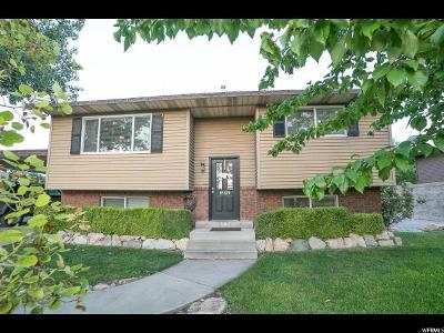 Orem Single Family Home For Sale: 879 S 1635 W
