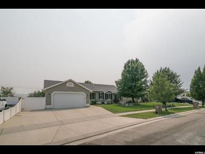 Draper Single Family Home For Sale: 883 W Stephens View Way