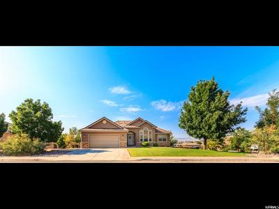 St. George Single Family Home For Sale: 2320 E 2540 S