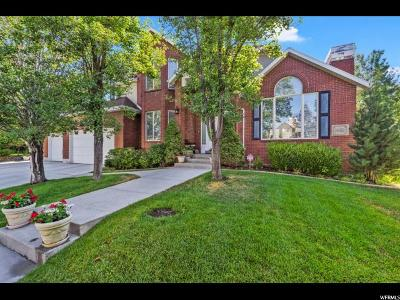 Cottonwood Heights UT Single Family Home For Sale: $899,900