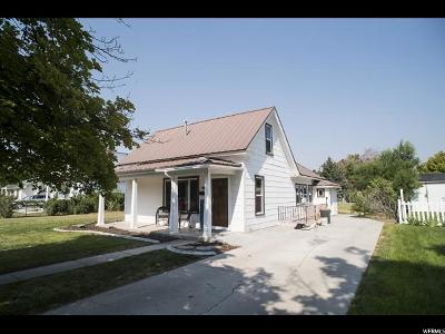 Tremonton Single Family Home For Sale: 220 N 100 E