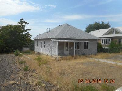 Brigham City Single Family Home For Sale: 19 N 300 W