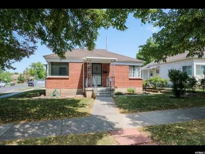 Salt Lake City Single Family Home For Sale: 803 E Sherman Ave S