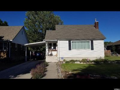 Tremonton UT Single Family Home For Sale: $165,000