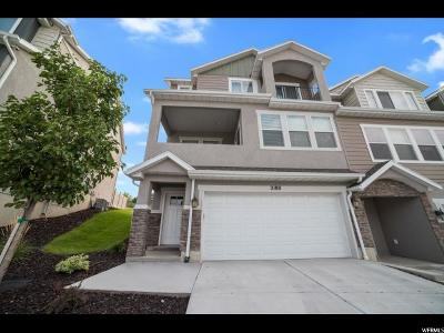 Lehi Townhouse For Sale: 2188 Crestview Dr
