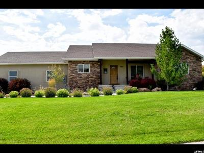 Mendon Single Family Home For Sale: 563 N 160 E