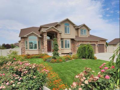 South Jordan Single Family Home For Sale: 11683 S Poplar Creek Ct