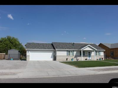 Tremonton Single Family Home For Sale: 143 S 760 W
