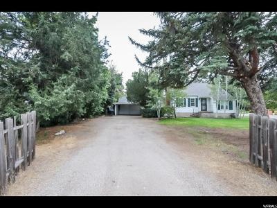 Holladay Single Family Home For Sale: 1704 E 5600 S