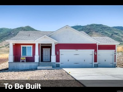 Santaquin Single Family Home For Sale: 334 Flagstone Dr #126