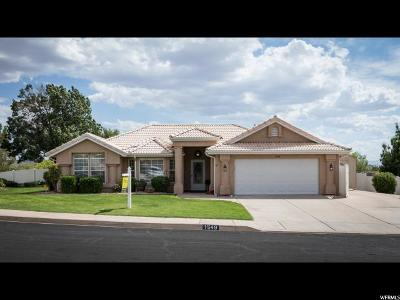 St. George Single Family Home For Sale: 1549 W 1550 N