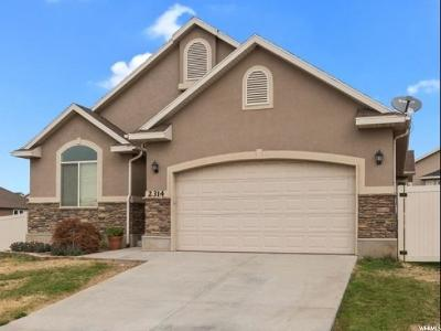 Lehi Single Family Home For Sale: 2314 W 2150 N