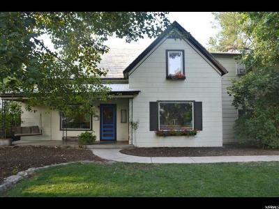 Logan Single Family Home For Sale: 339 W Center St