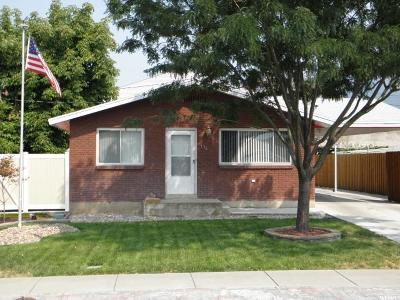 Single Family Home For Sale: 136 N 100 W