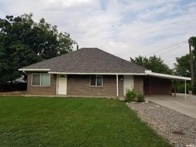 Springville Single Family Home For Sale: 30 S 1300th E