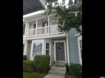 Springville Townhouse For Sale: 768 N 150 E