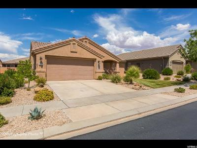 St. George Single Family Home For Sale: 4357 S Aspen Glow Dr